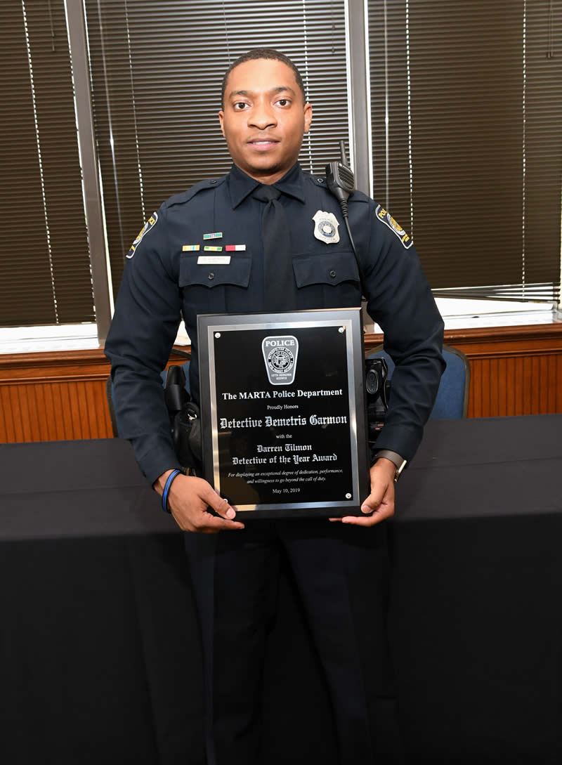 Detective of the Year - Demetris Garmon