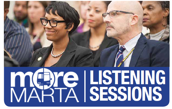 More MARTA March Listening Sessions
