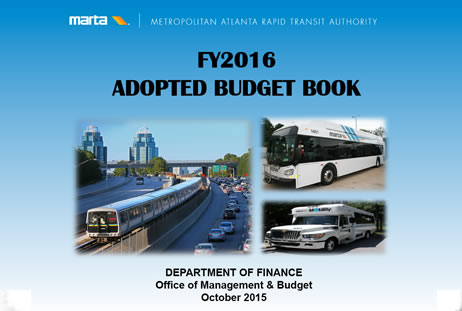 2016 budget book cover