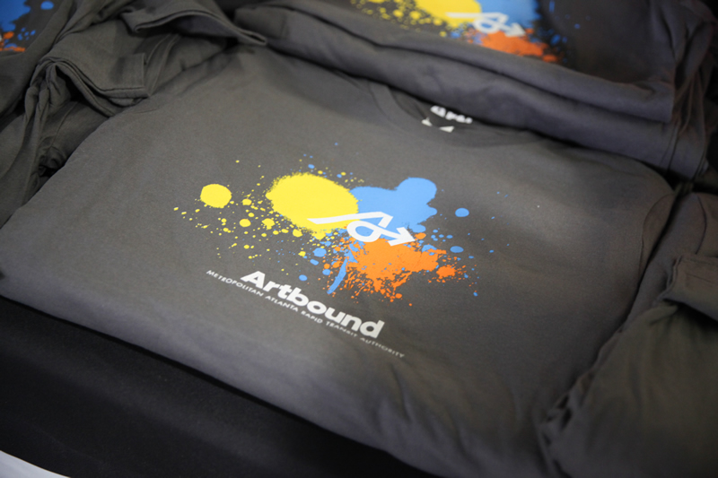 The Artbound logo and name was unveiled at the launch!